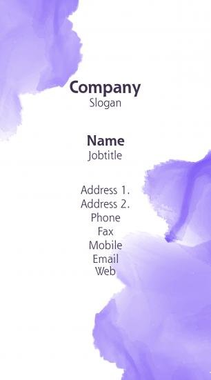 #093808 pastel colors business card template
