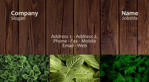 #190349 latest business card template