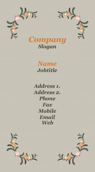 #273492 latest business card template