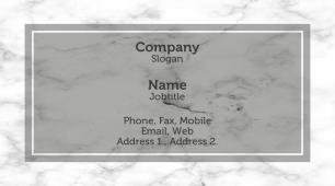 #449500 conservative business card template