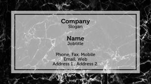 #555441 conservative business card template