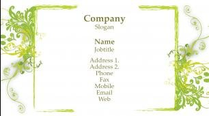 #565477 professions, personal services and repair business card template