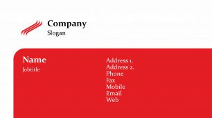 #594398 with logo business card template
