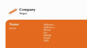 #674944 with logo business card template