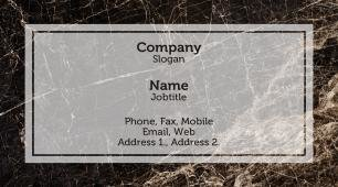#707774 conservative business card template