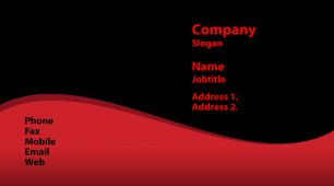 #719473 financial services, insurance, accounting and auditing business card template