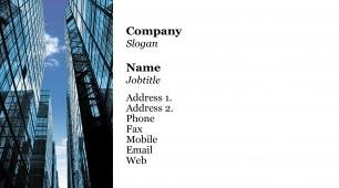 #755171 business services, office management business card template