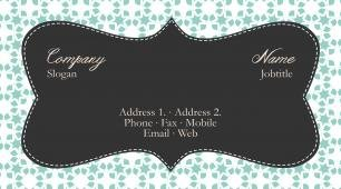 #771738 vintage business card template