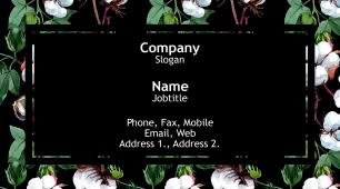 #820788 vibrant colors business card template