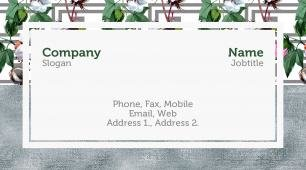#914807 internet and communications business card template