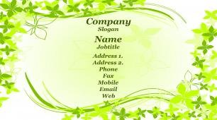 #937072 girly business card template