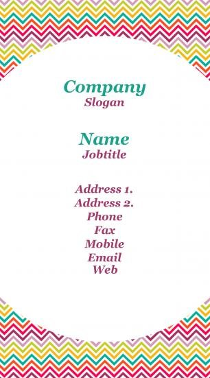 #957535 standing business card template